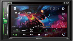 Pioneer Car Stereo AVH-A215BT with Bluetooth, USB,DVD Player .