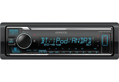KENWOOD KMM-BT306 Car Radio with Bluetooth