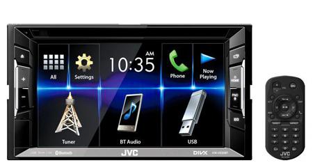 JVC KW-V230BTM Car Stereo with spotify & Reverse camera input