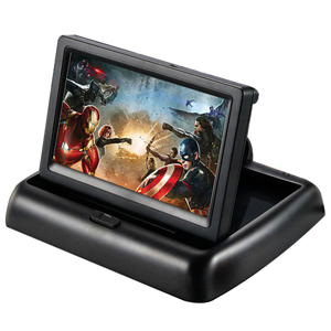 5 Inch Foldable Car LCD Dashboard monitor