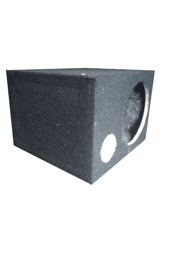 12 inch speaker cabinet with one breather.