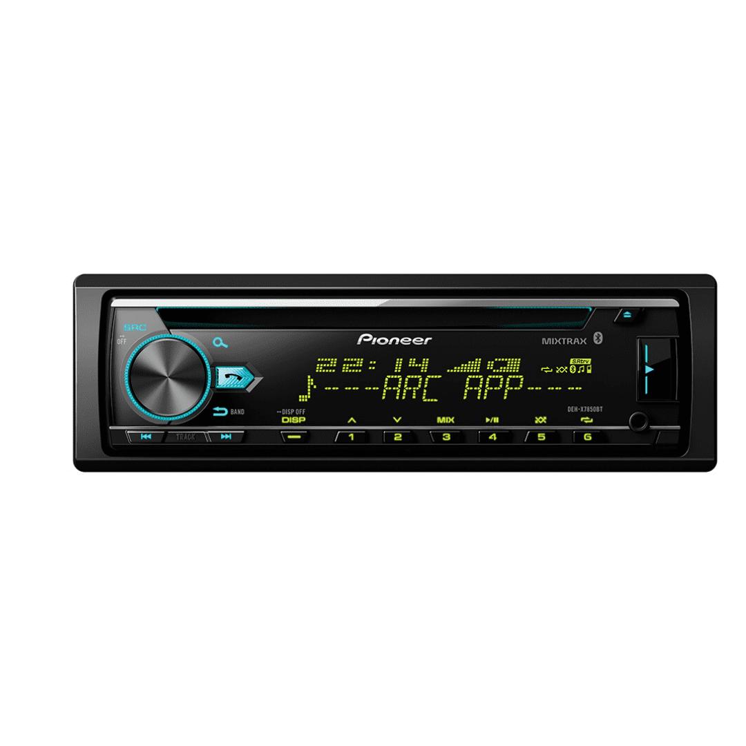 Pioneer DEH-X7850BT In Dash Car Radio with Bluetooth.