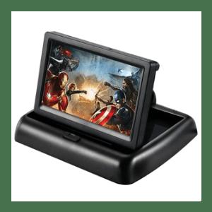 5 Inch Foldable Car LCD Dashboard mon