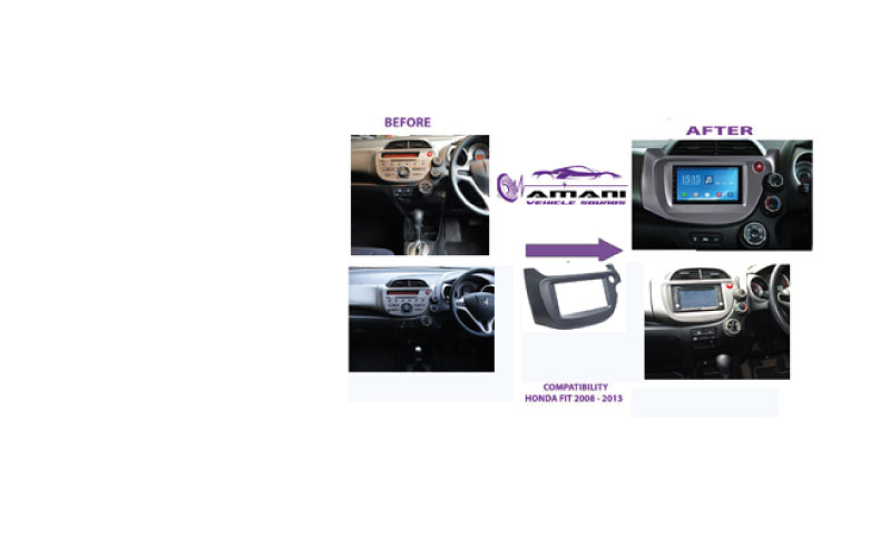Double Din Car Radio Fascia For 2008