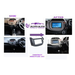 Honda Fit Radio Conversion kit