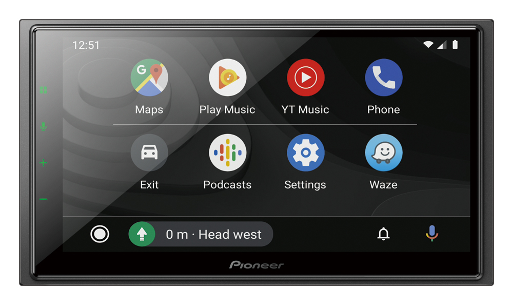 Pioneer DMH-Z6350BT 6.8″ Capacitive Touch-screen Multimedia player with Alexa Built-in, Apple CarPlay & Android Auto.