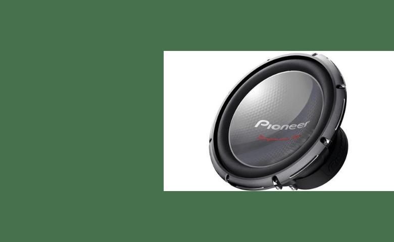 Pioneer TS-W3003D4 Dual Coil Speaker