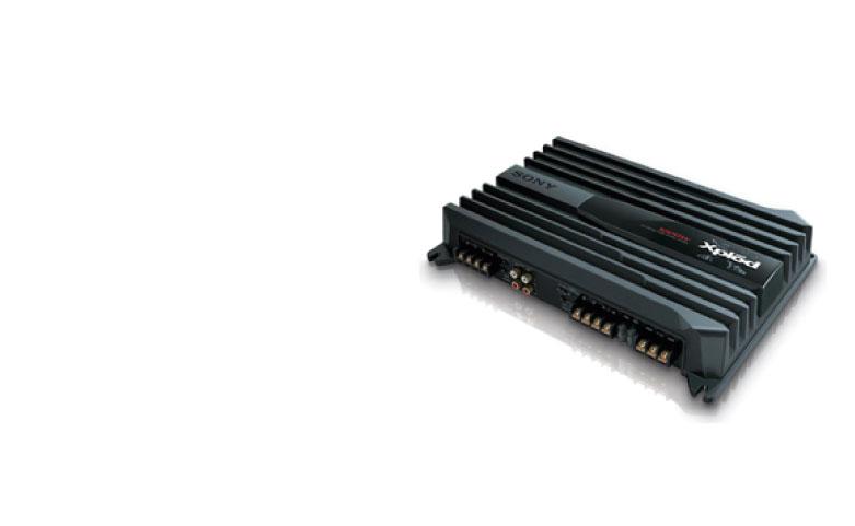 SONY XM-N1004 1000 Watts 4 Channel Amplifier
