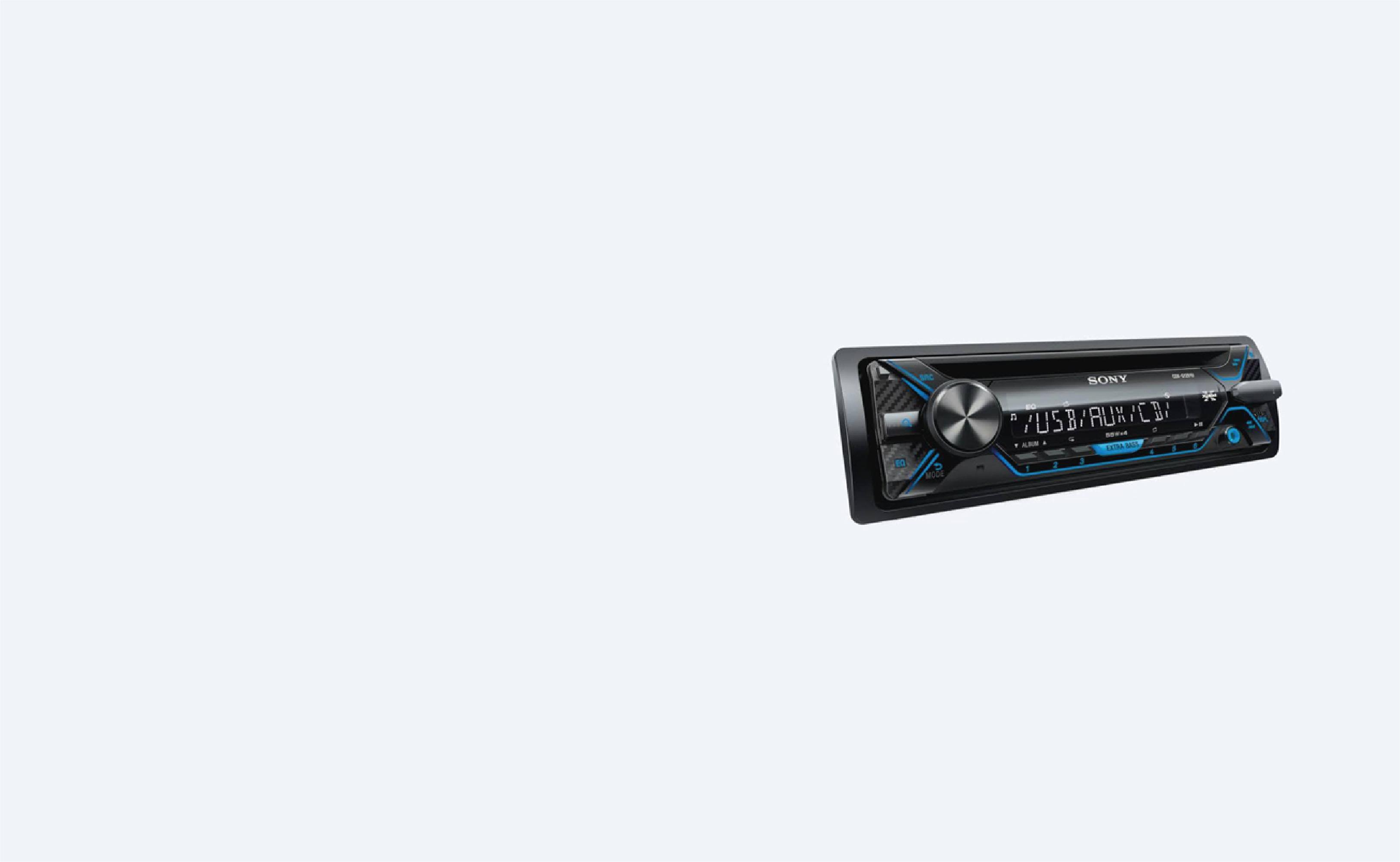 Sony CDX-G1201U Car Stereo