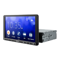 Sony Car Stereo system with Webcast