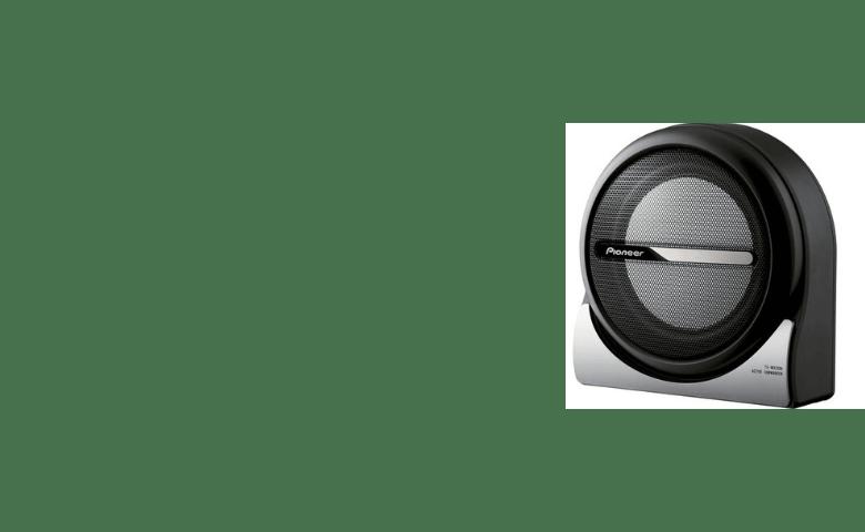 Space-saving Amplified Sub 150 Watts