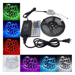 multicolor 5 Metre Set LED light Stri